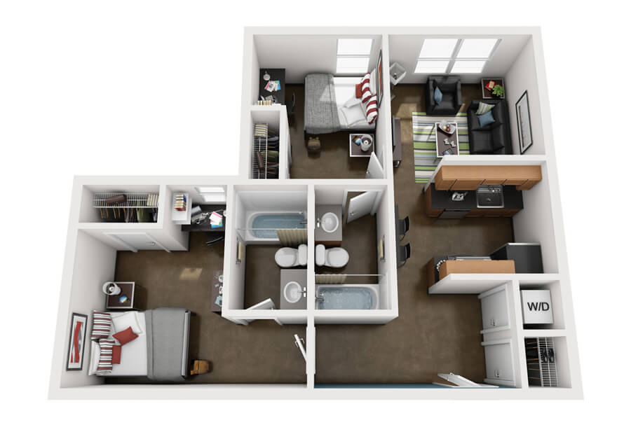Floor Plans Atlanta Student Apartments