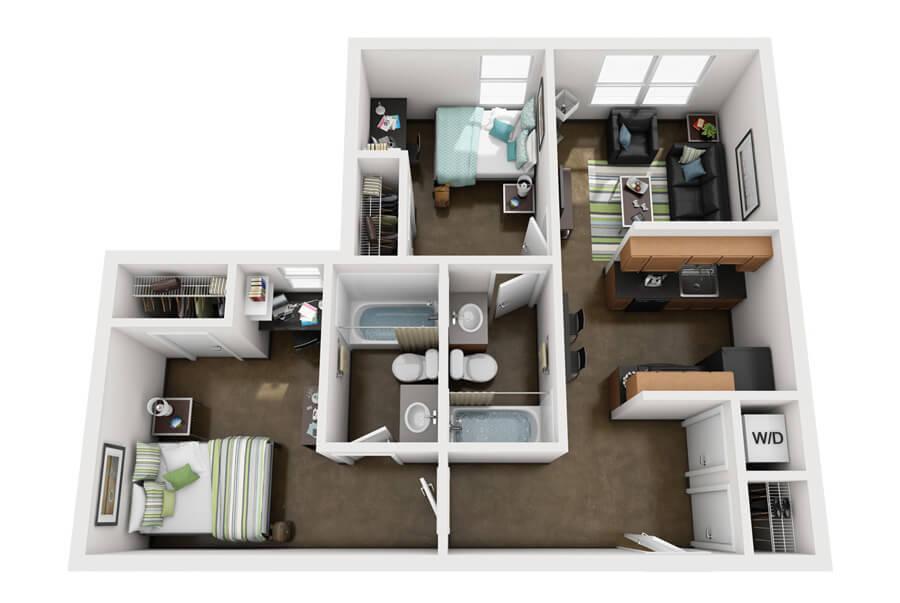 Westmar Student Lofts Floor Plan 7
