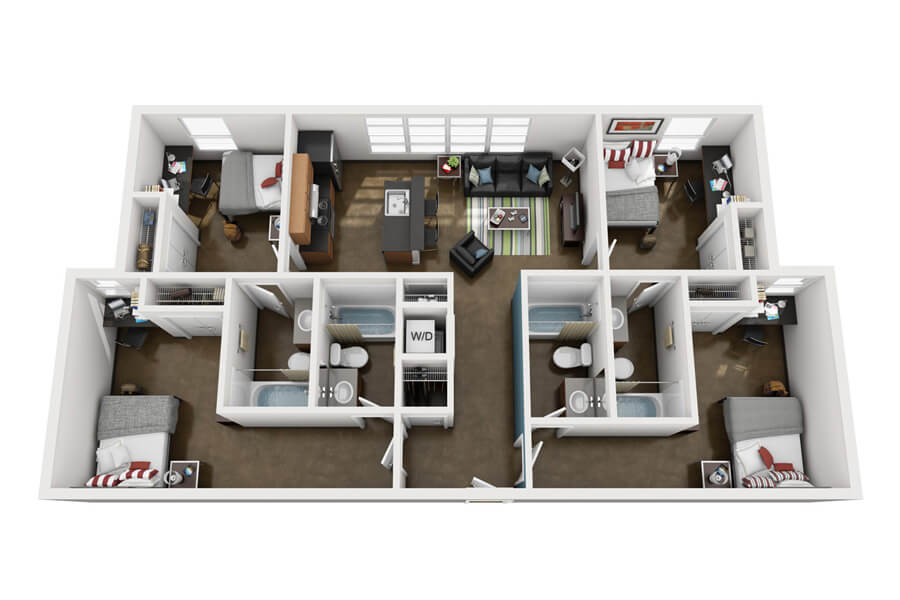 Westmar Student Lofts Floor Plan 4