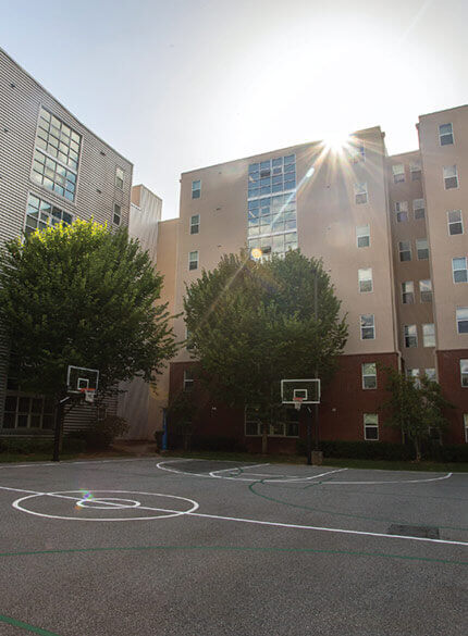 westmar basketball court